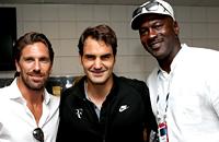 Джордан, ди Каприо и другие звезды на трибунах US Open