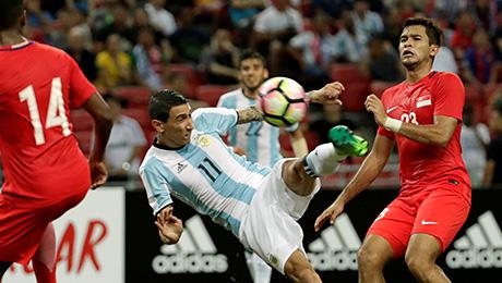 Аргентина сыграла с 2 защитниками и победила 6:0!