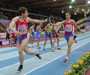 Олимпийский проспект. Легкая атлетика, бег. Мужчины
