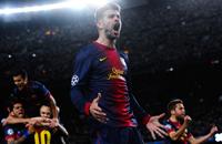 Давид и гол. «Барселона» – «Милан» в картинках