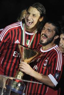 Парад чемпионов. «Милан»