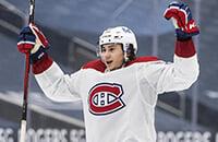Романов забросил первую шайбу в НХЛ. Его спокойствие в «Монреале» просто поражает
