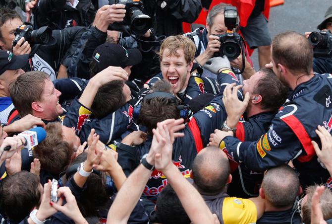 Итоги года в «Формуле-1». «Ред Булл»