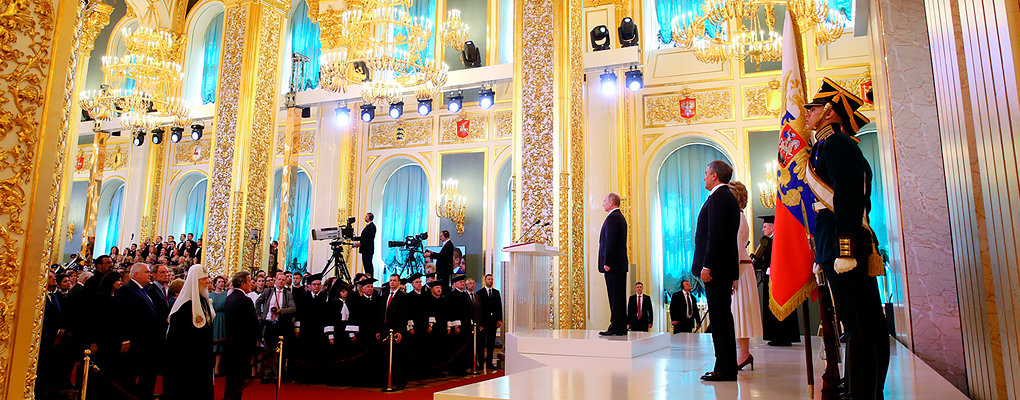 «Путин – король, который занял законное место». Спортсмены и Губерниев славят президента