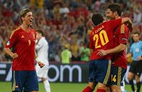 Контроль и качество. Фото четвертьфинала Испания – Франция