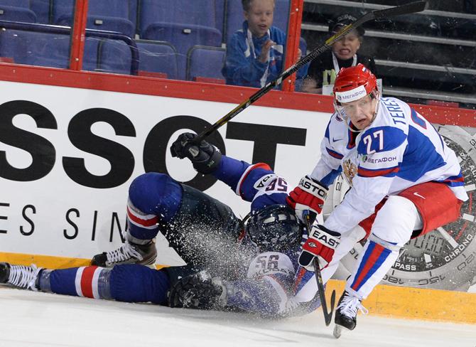 Словакия – Россия. Оценки сборной России
