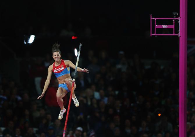 Елена Исинбаева: «Вы хотите сказать, кто-то прыгает лучше меня? Абсурд!»