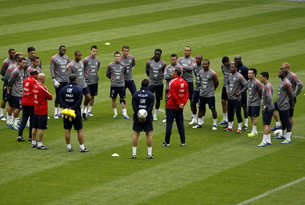 Евро-2012. Сборная Франции
