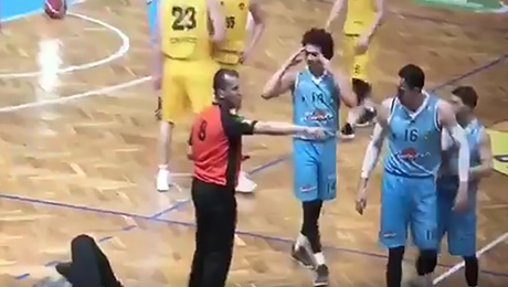 Теперь даже баскетбольные судьи симулируют