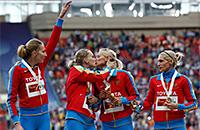 7 побед России на чемпионате мира по легкой атлетике