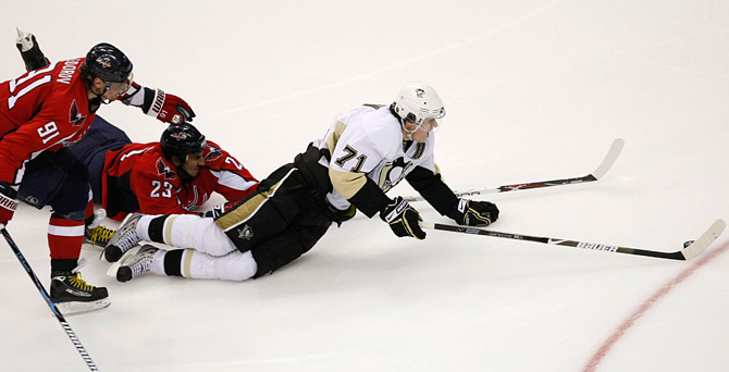 7 самых сумасшедших серий плей-офф НХЛ после локаута
