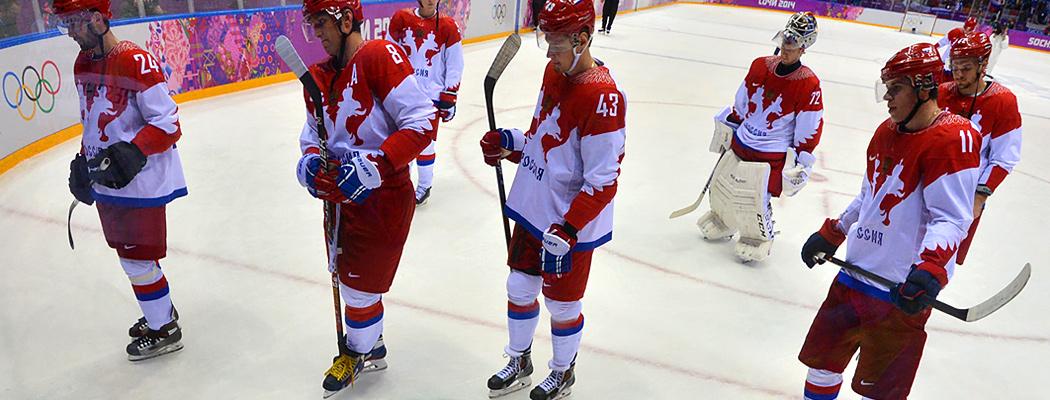 Россия 25 лет без золота Олимпиады в хоккее. Как так?