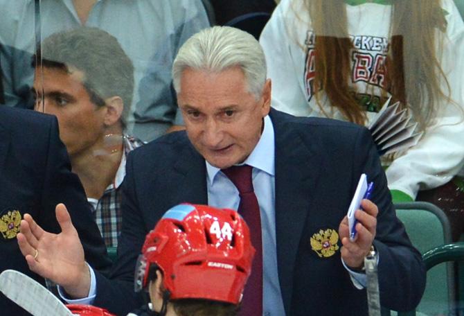 Чешские хоккейные игры. Оценки сборной России