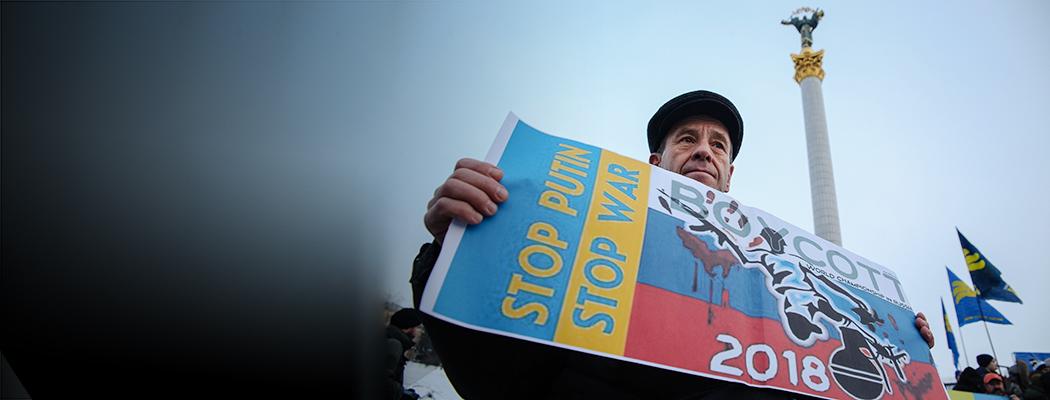 «Не совсем правильно ехать в страну, с которой воюешь». Украинские журналисты – без чемпионата мира