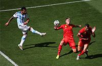 Аргентина – Бельгия. Лучшие фото