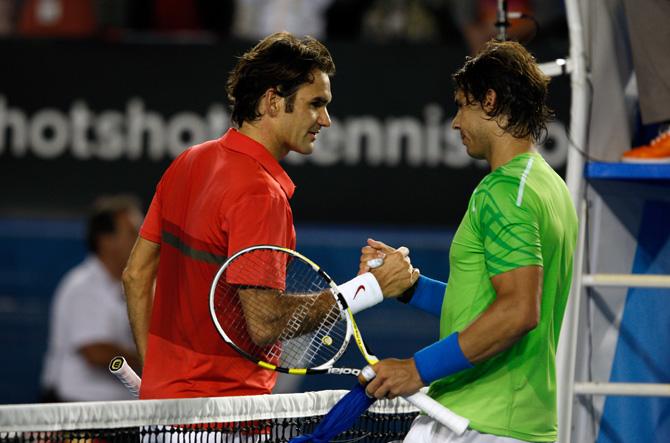 Федерер – Надаль и еще 8 ярких противостояний мужского тенниса