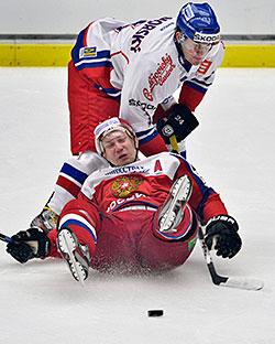 Россия – Чехия. Оценки сборной России