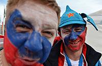 16 самых ярких болельщиков олимпийской сборной России