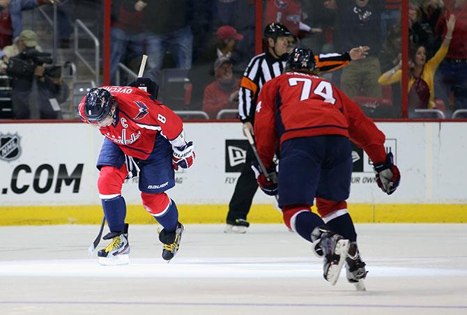 Овеч-трюк. 7 российских героев недели в НХЛ