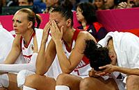 Лондон-2012. Поражение баскетболисток и другие сюжеты дня. Фотохроника