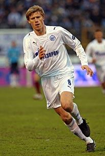 Павел Погребняк забил первый гол в чемпионате России