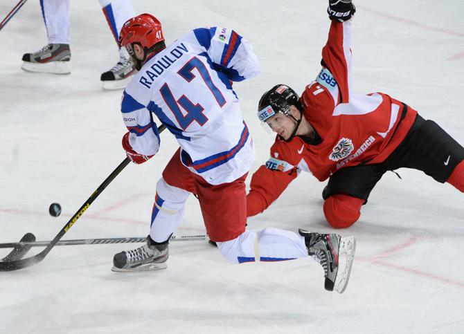 Россия – Австрия. Оценки сборной России