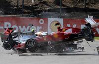 Замесы в Спа. Лучшие кадры Гран-при Бельгии