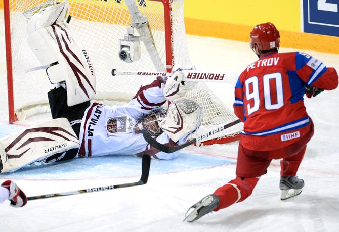 Экономь класс. Как сборная России разгромила Латвию