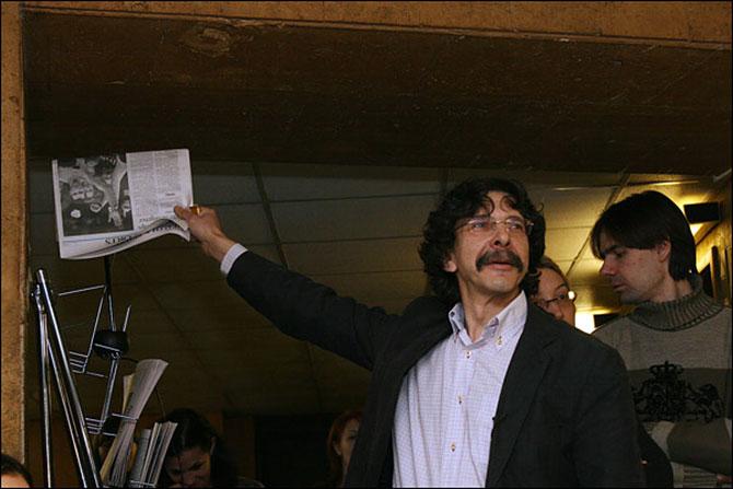 Сергей Бунтман: «Заорал: «Карлито, мочи!» – а потом три дня говорил, как Дон Корлеоне»