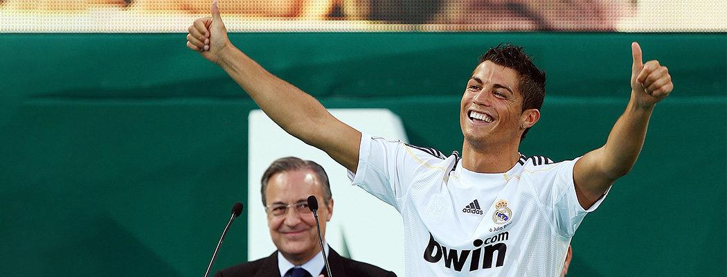 «Реал» шесть лет хотел купить Роналду