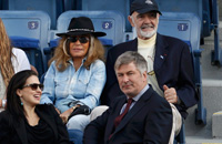 Клинтон, ди Каприо и другие знаменитости на трибунах US Open