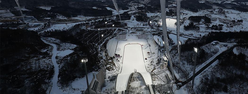 Пхенчхан-2018: олимпийские арены за год до Игр