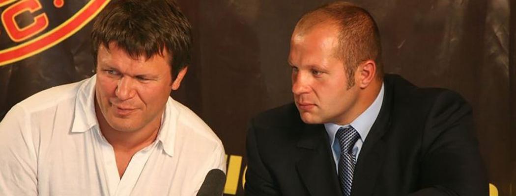 Емельяненко vs Тактаров. Большой конфликт из-за детских боев