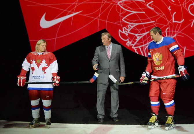 «Хочется больше звезд». Как презентовали олимпийскую форму сборной России