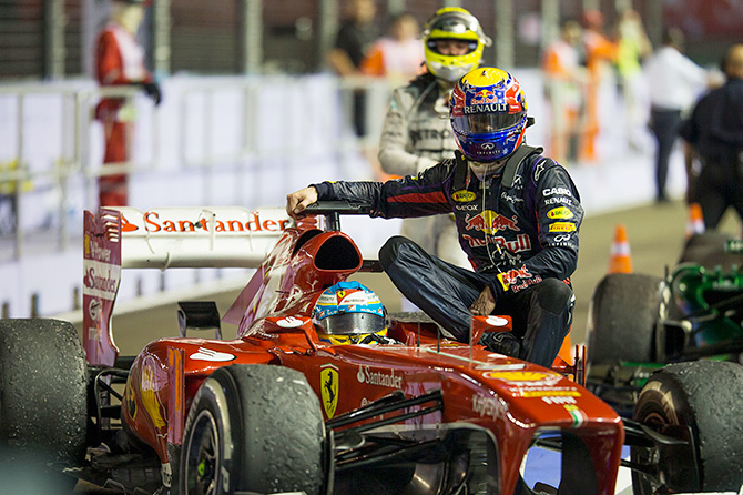 5 главных событий Гран-при Сингапура