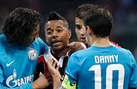 Похищение Европы. Победа «Зенита» над «Миланом» в картинках