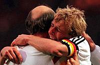 Карта памяти. Победа сборной Германии на Евро-96