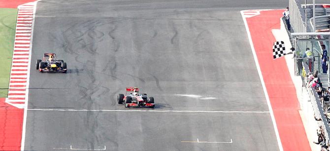Техасская дуэль. Как Хэмилтон выиграл Гран-при США
