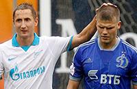 Матч «Динамо» – «Зенит» в картинках