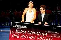 Шарапова на итоговом турнире-2004. Как она побеждала