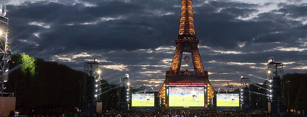 Эйфелева башня и спорт: они обожают друг друга