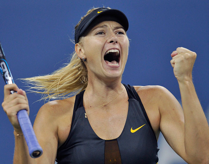 Волевая победа Шараповой и другие события воскресенья на US Open-2012