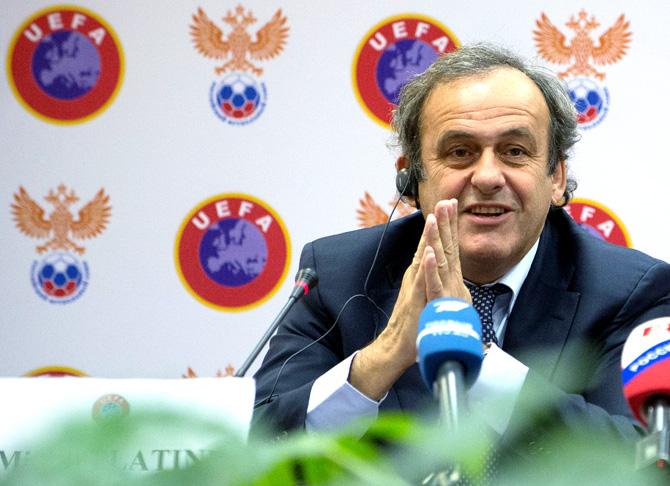 Мишель Платини: «России и Украине не нужно проводить Объединенный чемпионат. Это же я сказал Путину»