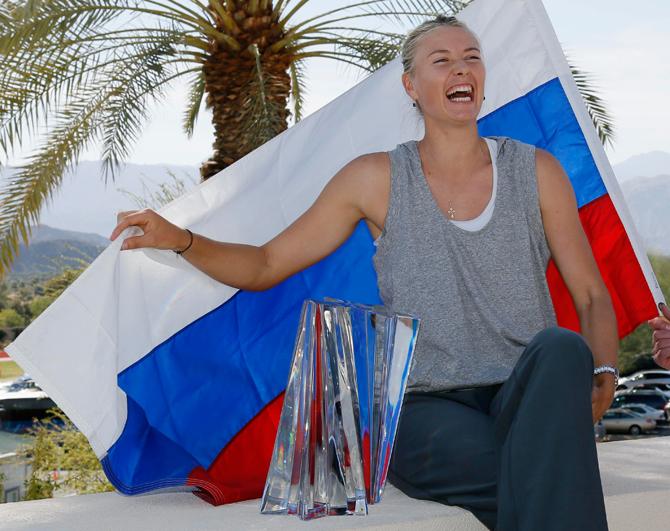 Как Шарапова выиграла первый титул в сезоне