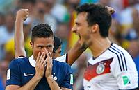 Германия – Франция. Лучшие фото