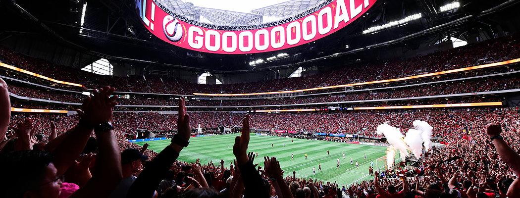 Лучший стадион мира – в Атланте. Много фото и впечатлений