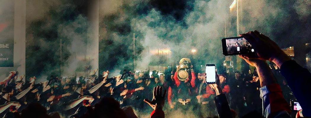 ЦСКА – чемпион впервые за 30 лет! Затащил в овертайме, отметил кубок с фанатами