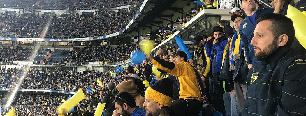 Я смотрел финал Кубка Либертадорес на «Сантьяго Бернабеу». А аргентинские фанаты бывают спокойными