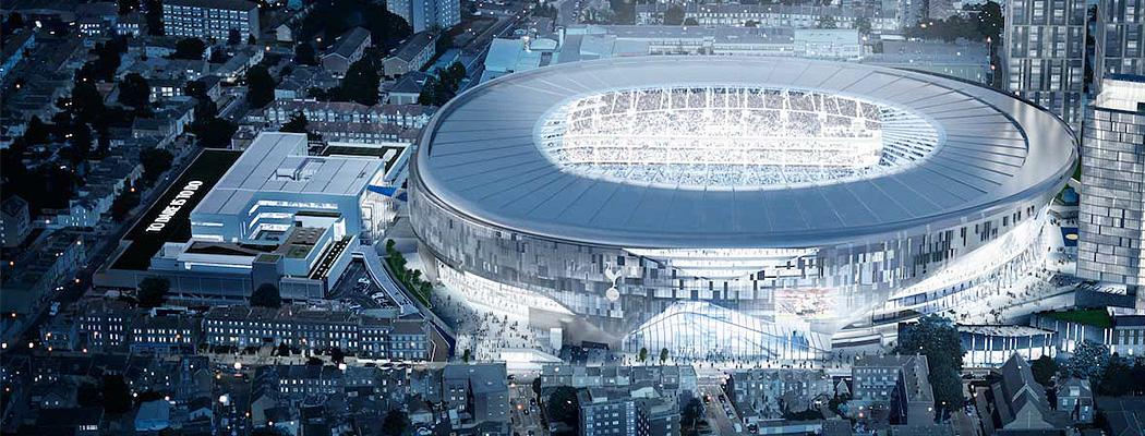 Новые футбольные стадионы, которые всех потрясут