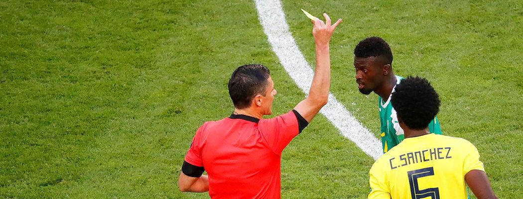 Сенегал вылетел, а Япония вышла в плей-офф из-за желтых карточек